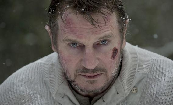 Liam Neeson and Wolf